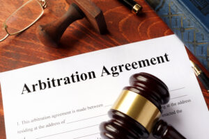 From arbitration to mediation